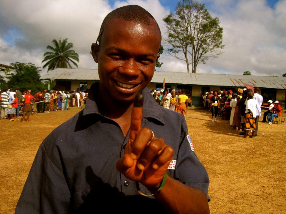 Voting Finger